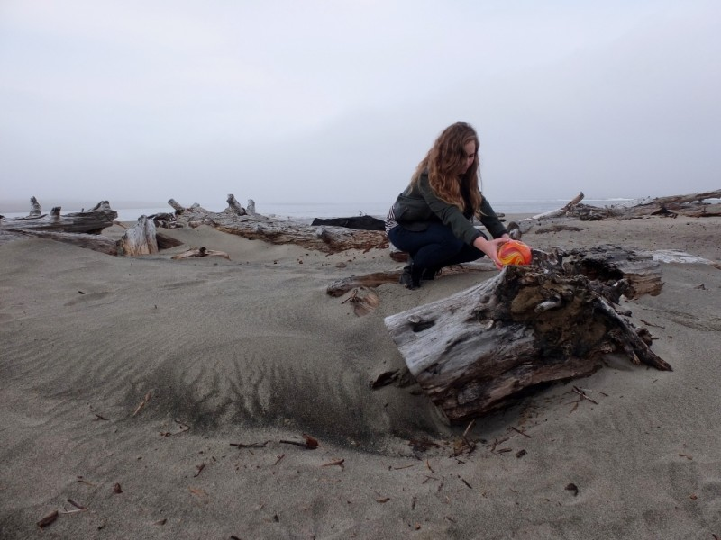 "Anonymous volunteers known as ""float fairies"" conceal glass floats for the public to find in safe places along a 12km stretch of Oregon coastline."