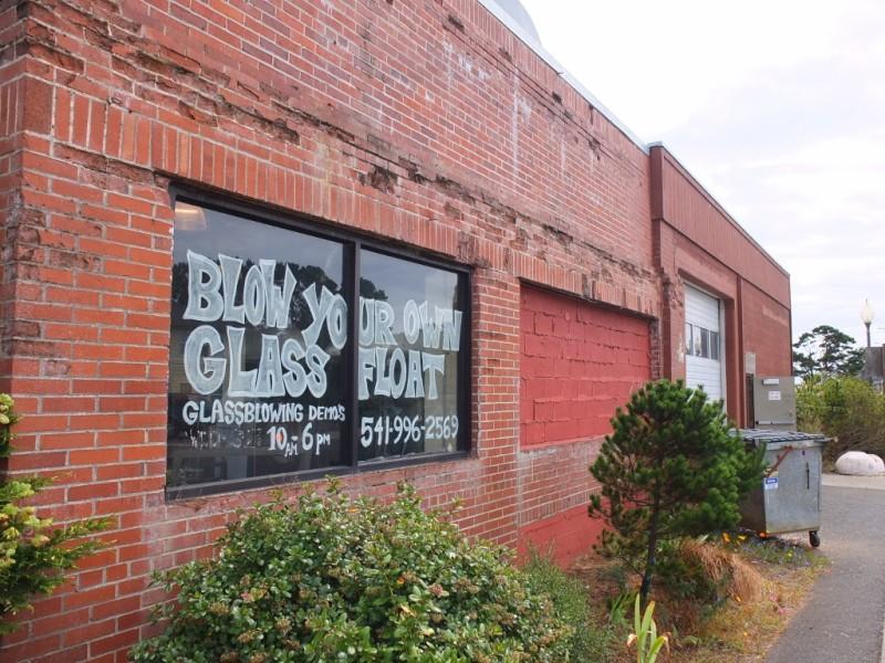 The Jennifer Sears Glass Art Studio in Lincoln City