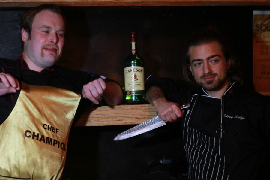 Chefs at Falconettis