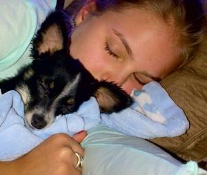 Joey and Claire's daughter Lauren