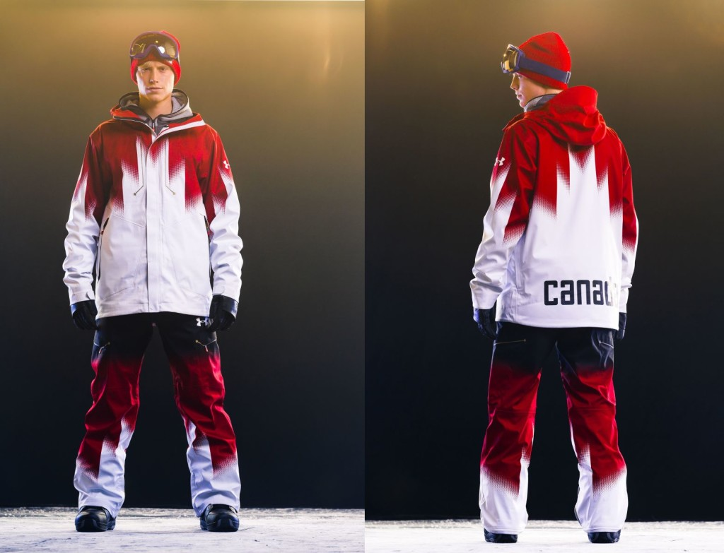 Under Armour unveils Canadian Snowboard Team uniforms for Sochi 2014 | Daily Hive Vancouver