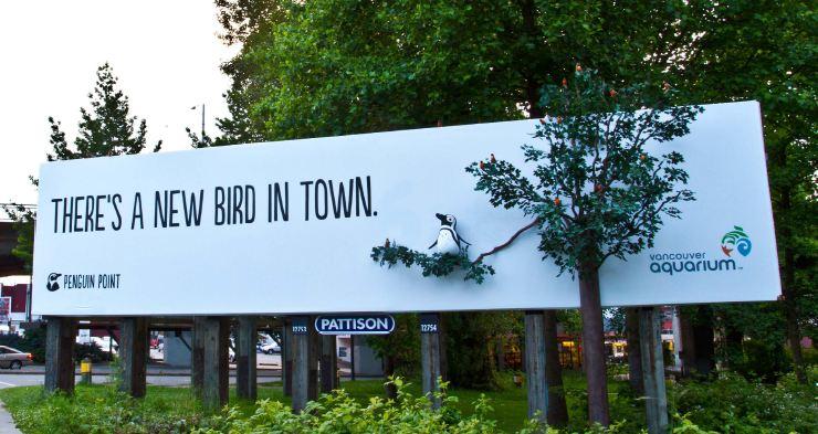 Penguins - Billboard wide