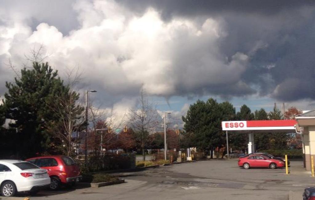 Burnaby Funnel Cloud Tornado