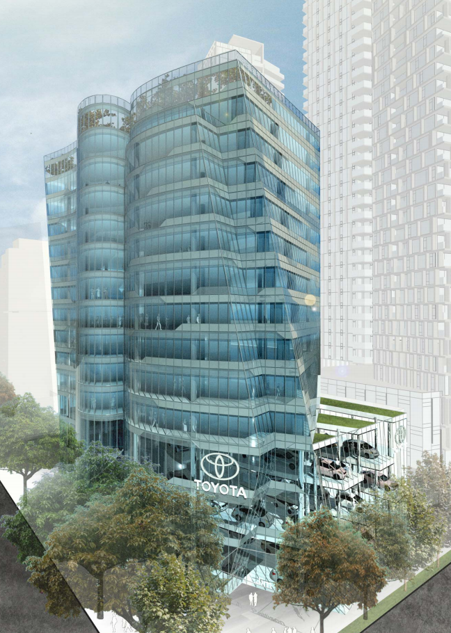 Jim Pattison 039 S Massive 54 Storey Burrard Gateway Tower Complex Approved By City Council News