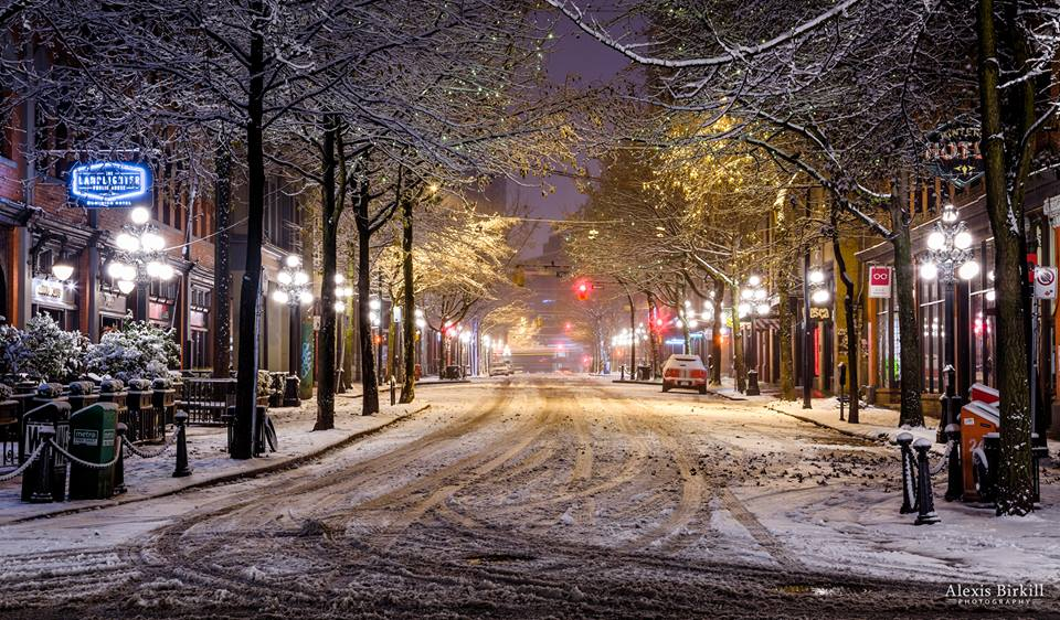 Vancouver Christmas Snow.Photos Of Vancouver 039 S First Major Snowfall Of The