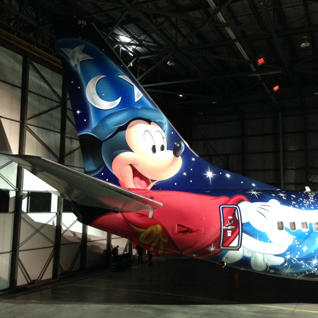 WESTJET - WestJet soars to new heights with Magic Plane