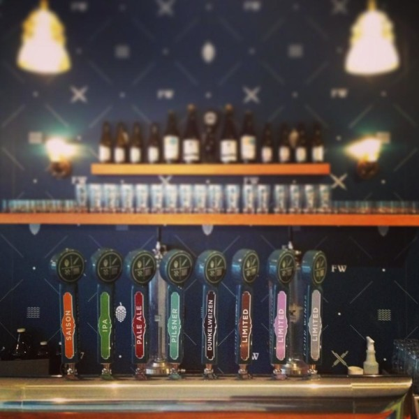 Four Winds Brewing Tasting Room