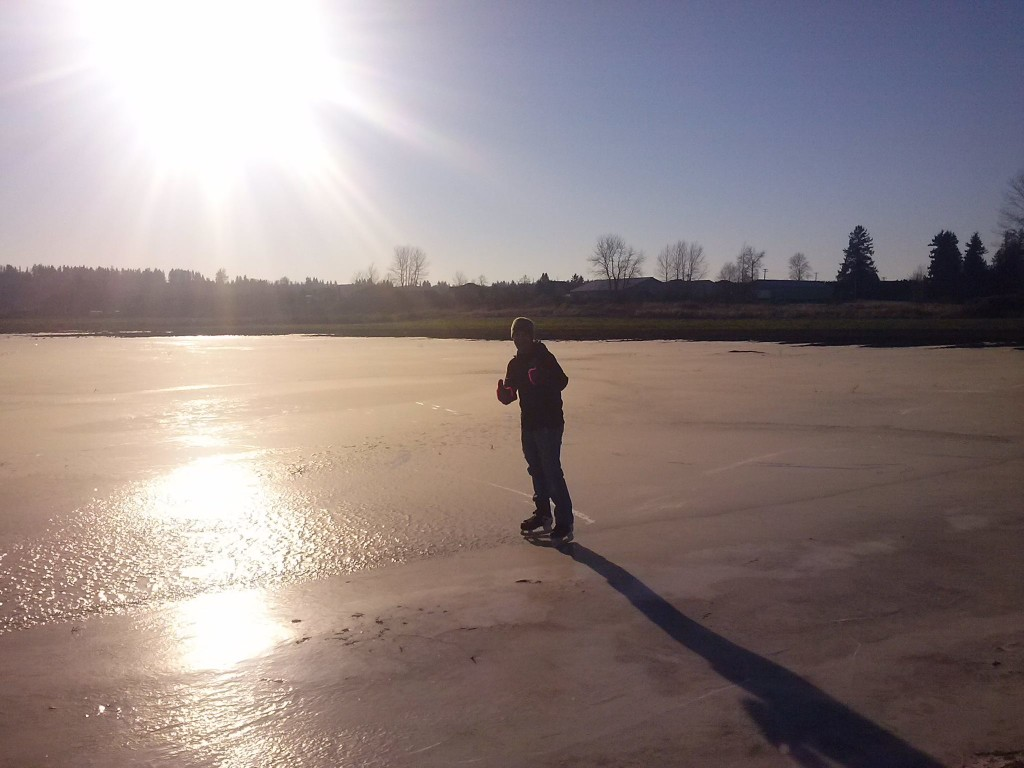 Surrey Outdoor Ice Rink