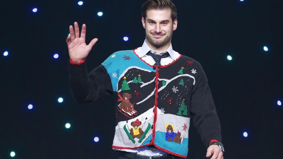 Canucks ugly sweater Brad Richardson