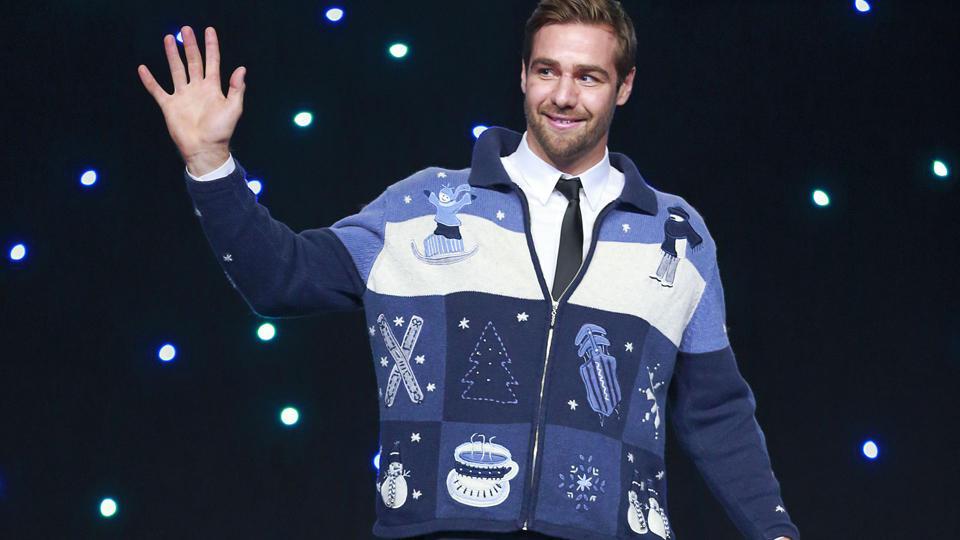 Canucks ugly sweater Chris Higgins