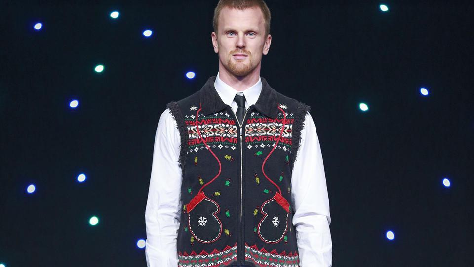 Canucks ugly sweater Daniel Sedin