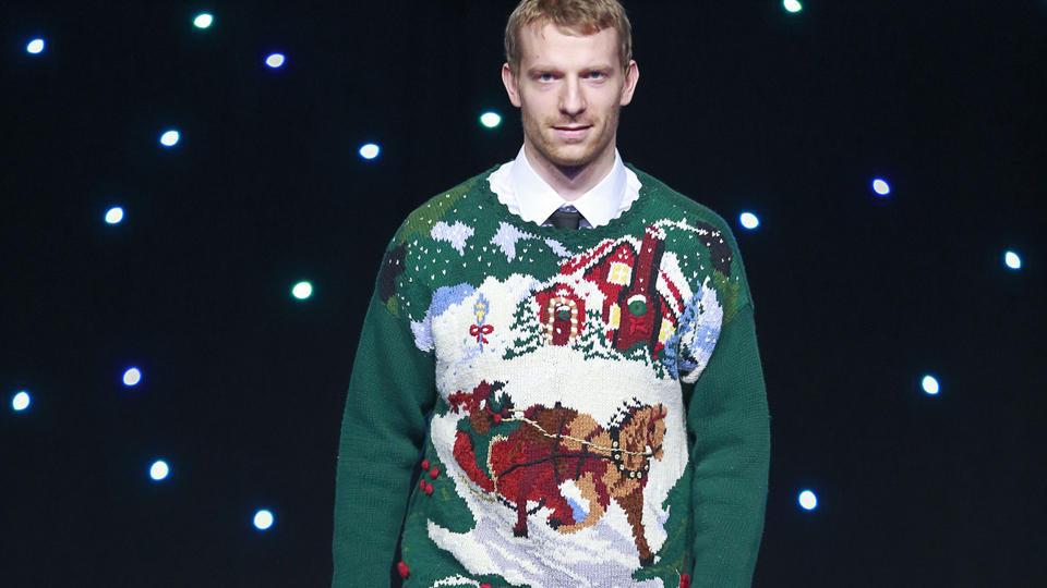 Canucks ugly sweater Jannik Hansen
