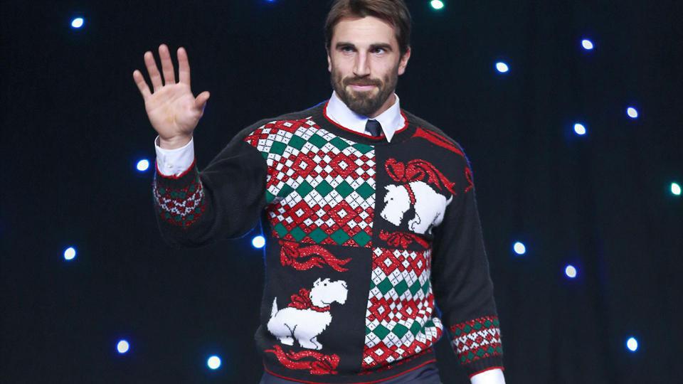 Canucks ugly sweater Jason Garrison