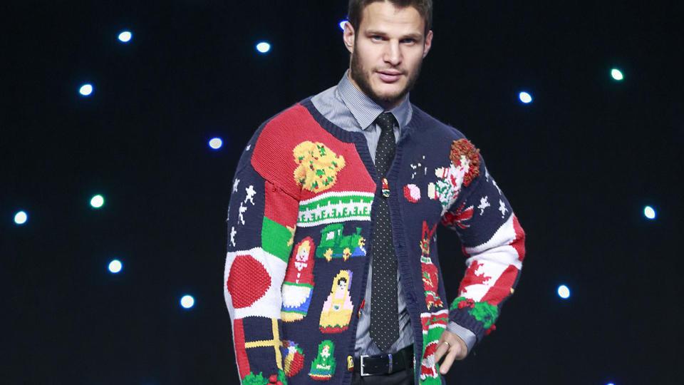 Canucks ugly sweater Kevin Bieksa
