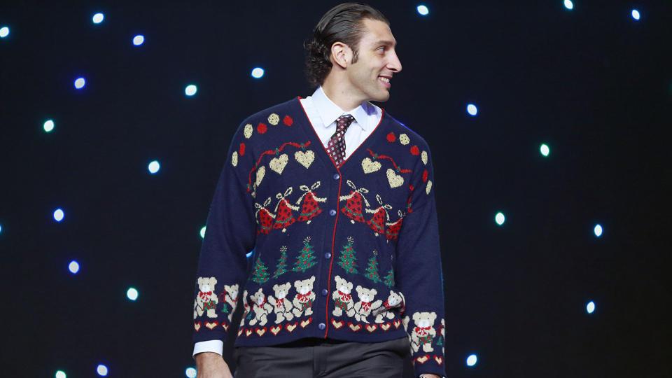 Canucks ugly sweater Roberto Luongo