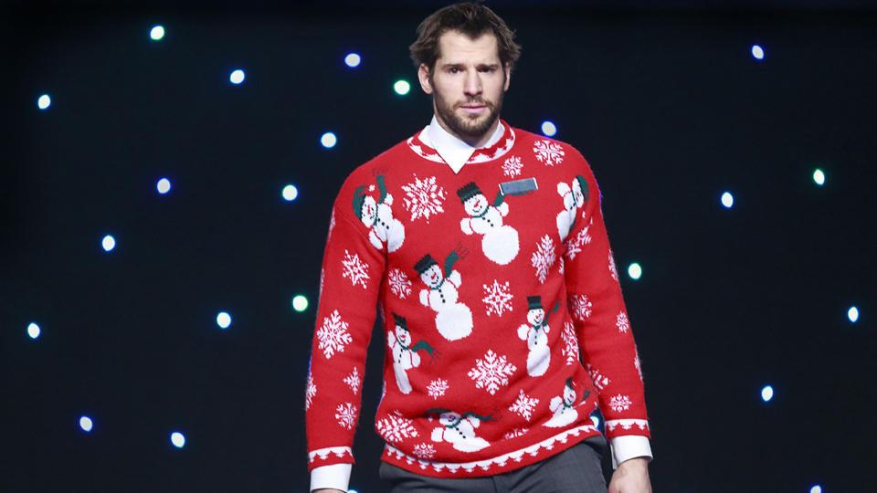 Canucks ugly sweater Ryan Kesler