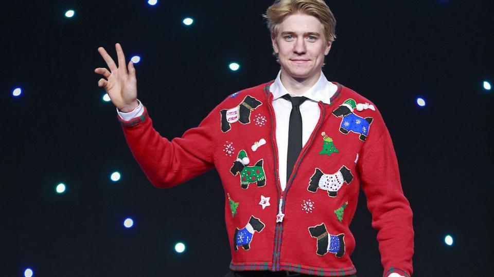 Canucks ugly sweater Zac Dalpe