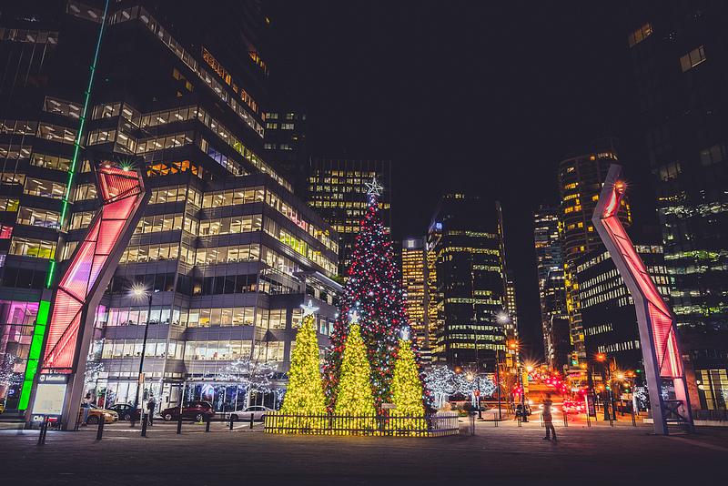 Christmas Tree Vancouver
