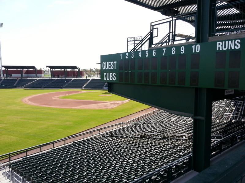 Cubs Park_Mesa AZ_spring tarining
