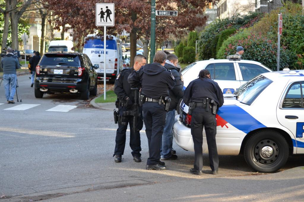 Vancouver Police lockdown