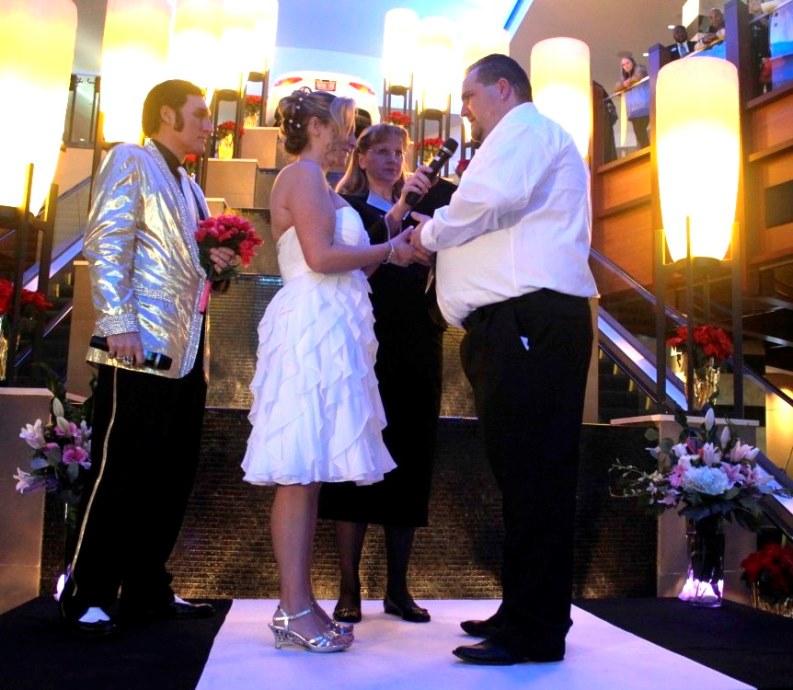Jim saying vows