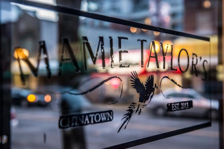 Mamie Tayor's sign