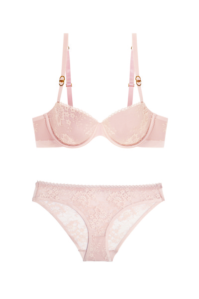 Stella Lace Balconnet Bra and Brief