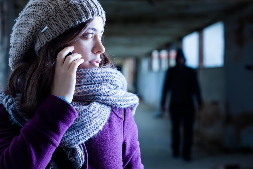 Stalker women attack crime sexual assault rape / Shutterstock
