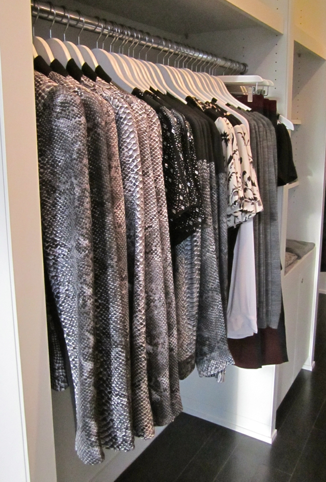 "The ""mini-closets"" at Stylishmess"