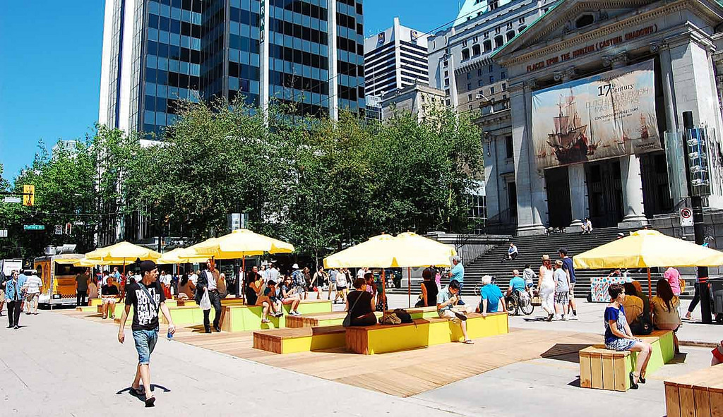 Robson Redux 800 Robson Street Public Space