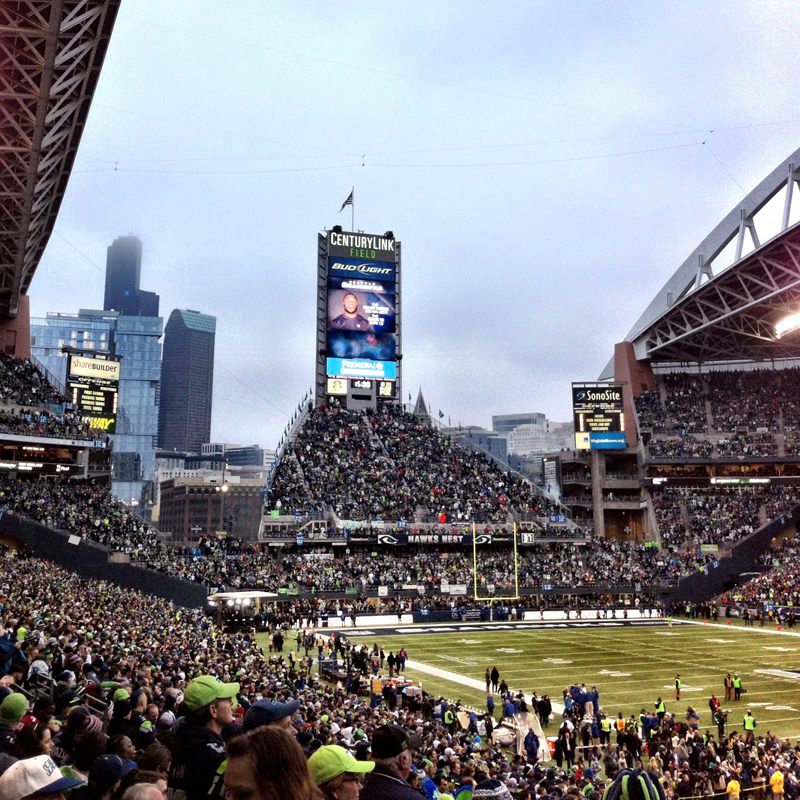 CenturyLink Field Seahawks experience - Vancity Buzz