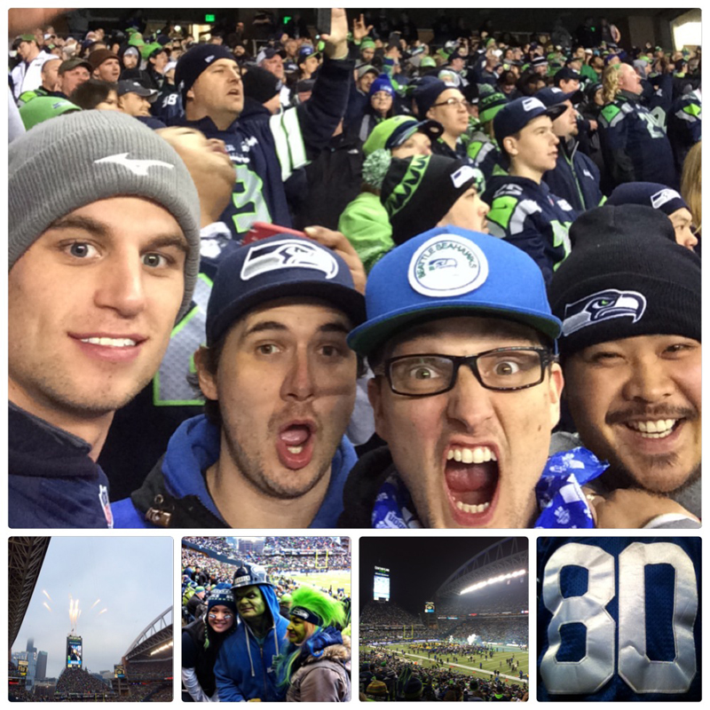 Fandemonium at a Seattle Seahawks experience game - Vancity Buzz