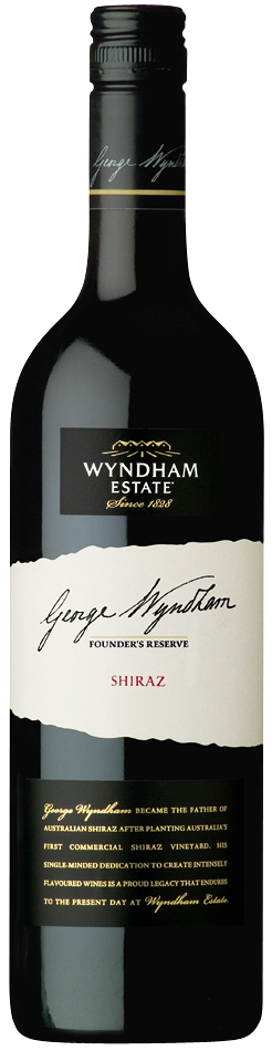 George Wyndham Founders Reserve 2010 Shiraz - bottle image