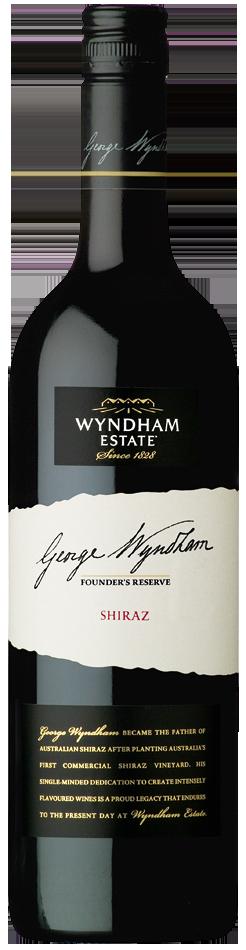 George Wyndham Founders Reserve 2010 Shiraz - bottle image