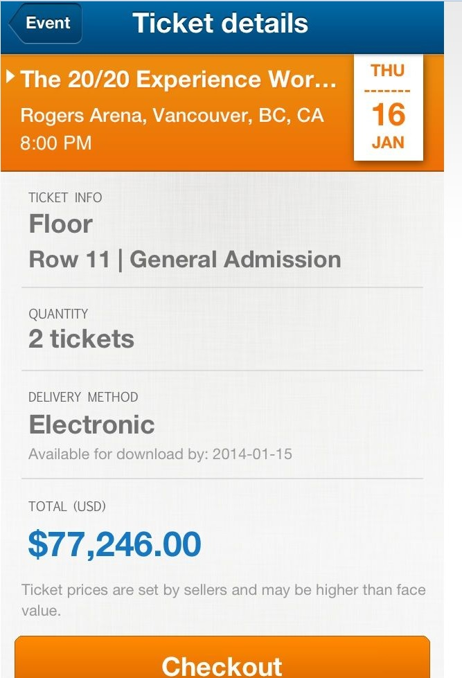 JT Tickets Vancouver