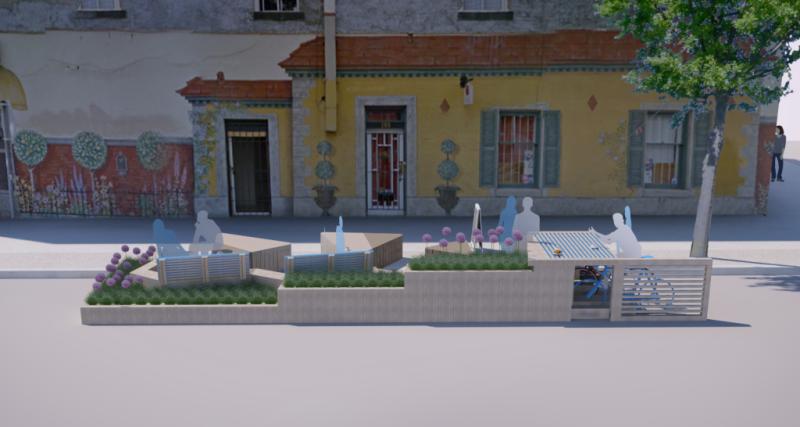Main Street Parklet