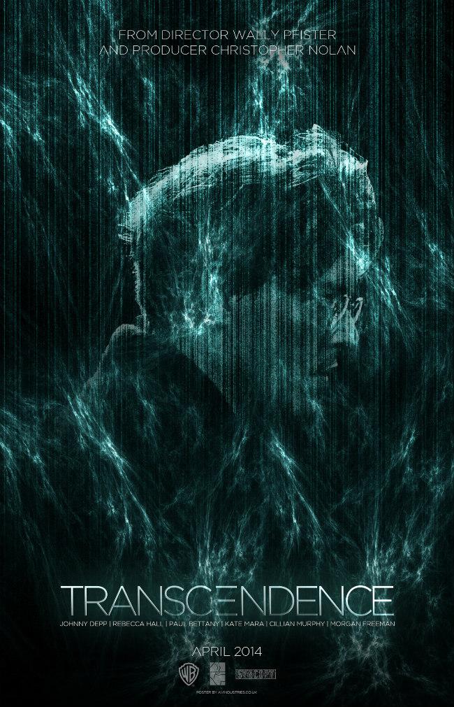 Transcendence 2014 film poster