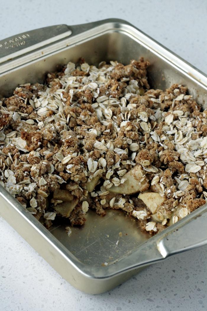 Apple Crumb Snack Bars