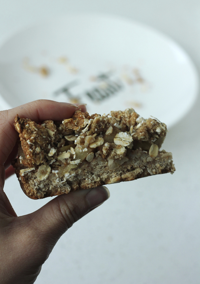 Apple Crumb Snack Bars