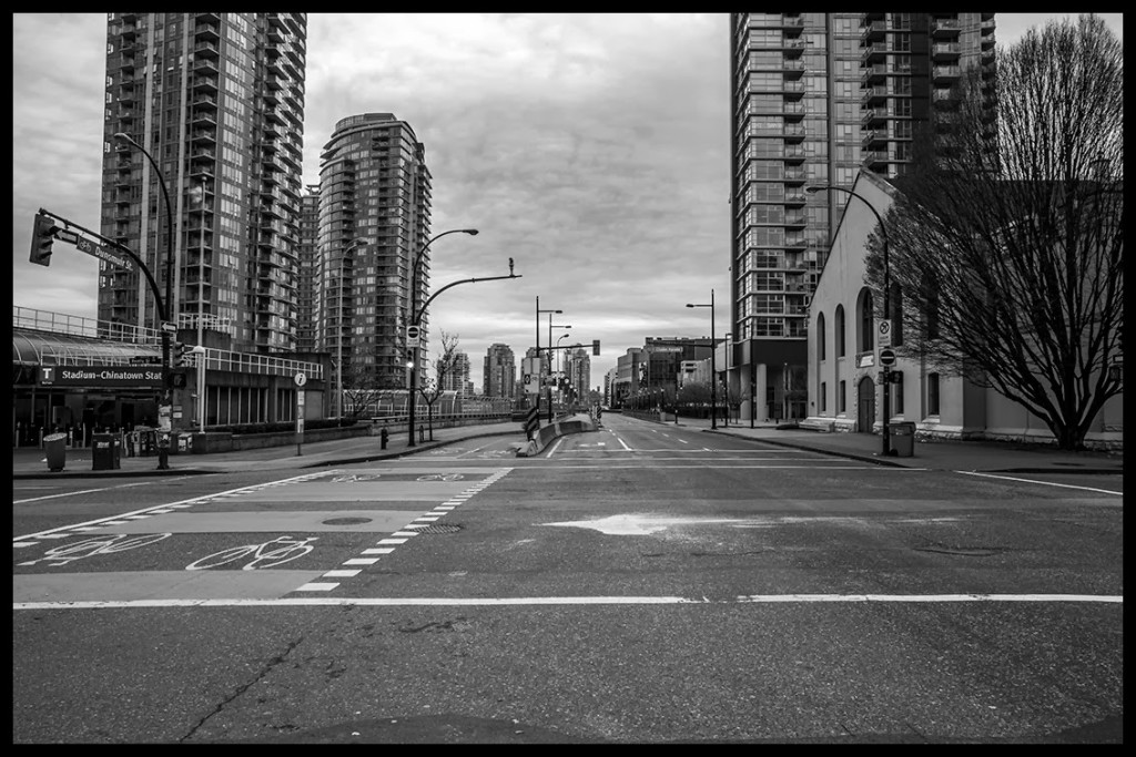 Vancouver Christmas morning quiet