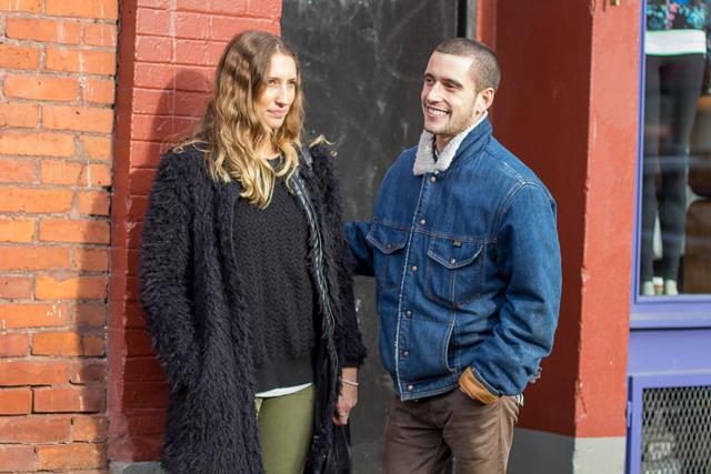 Jean jacket, Vancouver street style