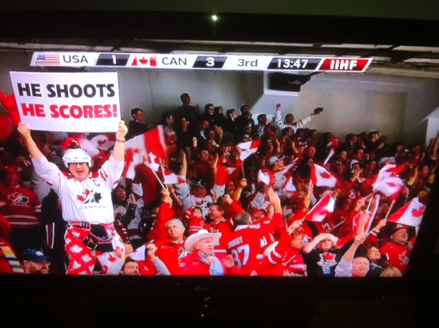 team canada hockey red light guy