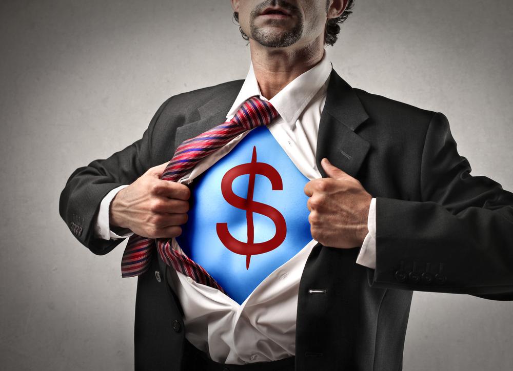 Businessman wealth jobs employment / Shutterstock