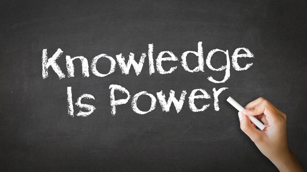 Knowledge is power / Shutterstock