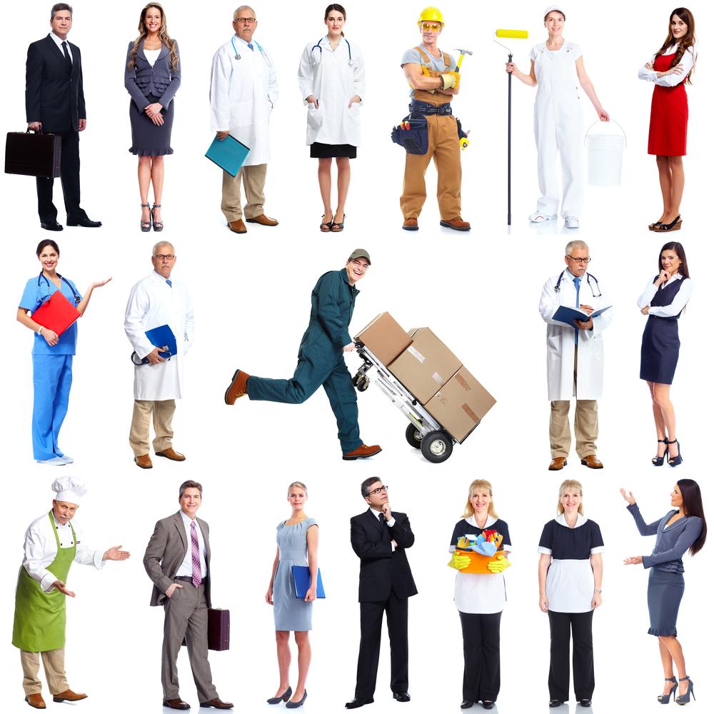 Workers jobs trades / Shutterstock