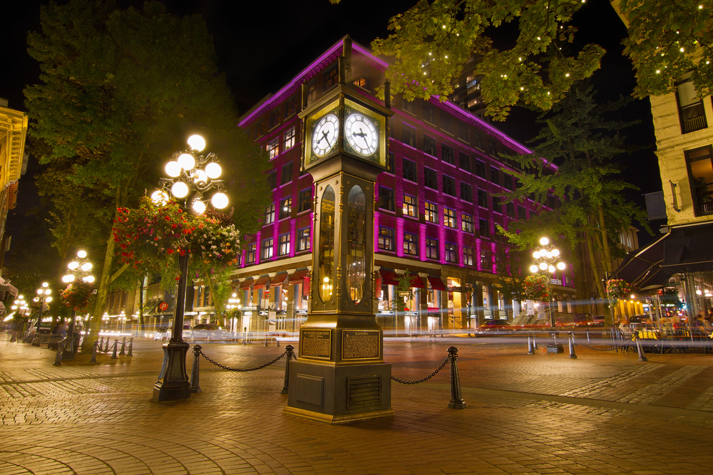 Gastown steam clock / Shutterstock