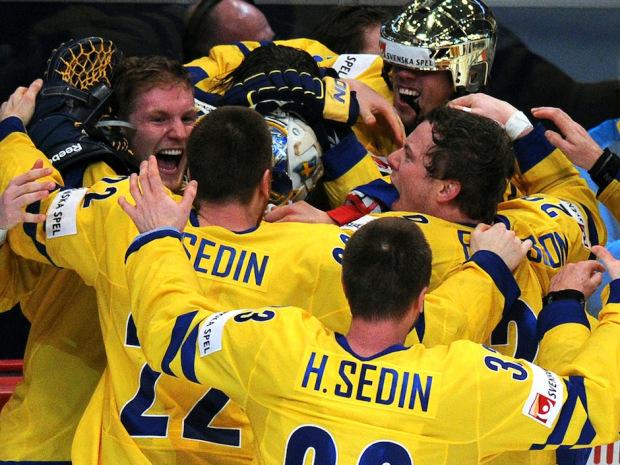 sweden hockey win