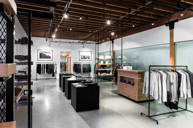 Wings + Horns retail store