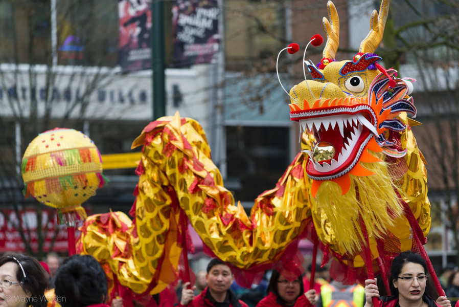 Vancouver Chinese New Year Parade 2014