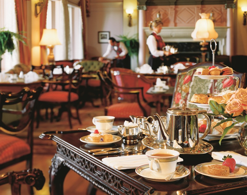 Afternoon tea at the Fairmont Empress in Victoria
